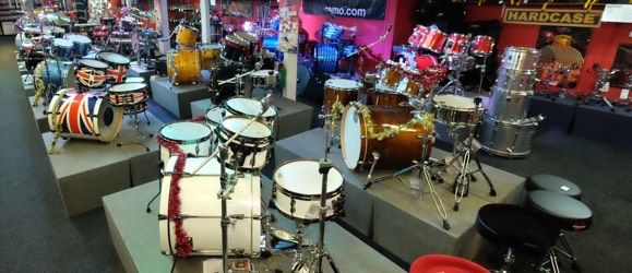 RockFactory guitars drums PA musical instruments Yorkshire