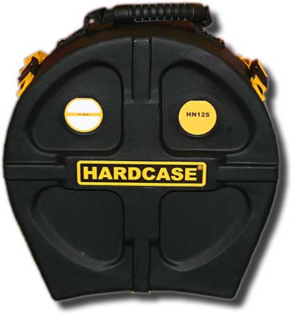 Hardcase 12in snare drum case