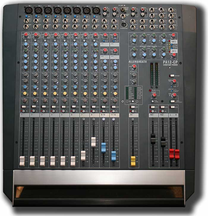 Allen + Heath PA12-CP (used)