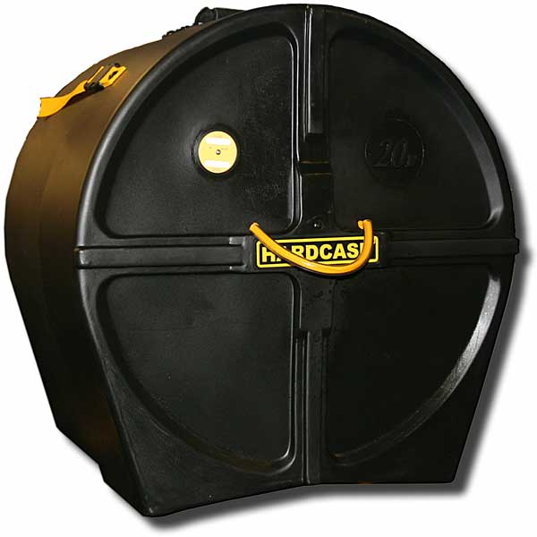 Hardcase 20in bass drum case