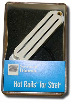 Seymour Duncan SHR-1B Hot Rails for Strat -White