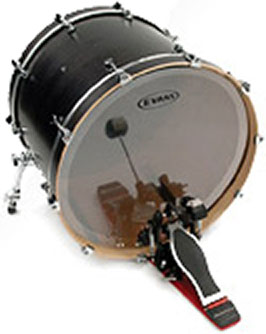 Evans EQ1 20in  bass drum head