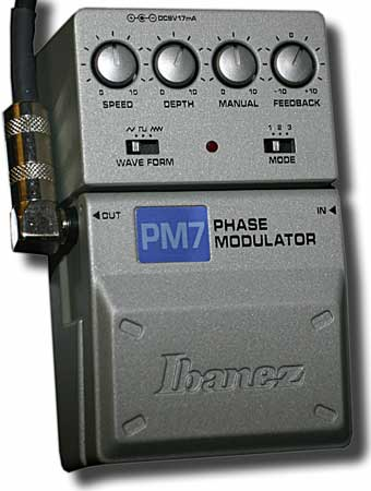 Ibanez Phase Modulator PM7