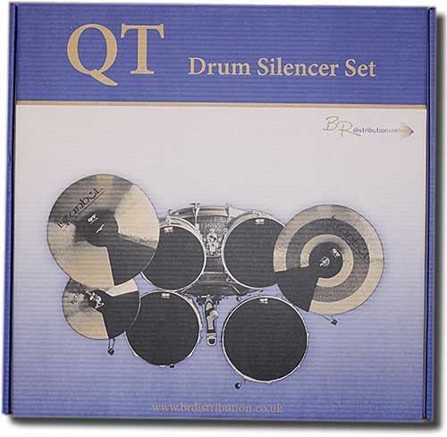 QT Drum Silencer Set (rock sizes)