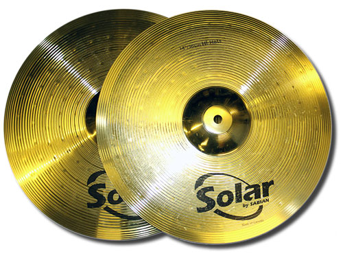 Sabian Solar 14in hi hats (used)