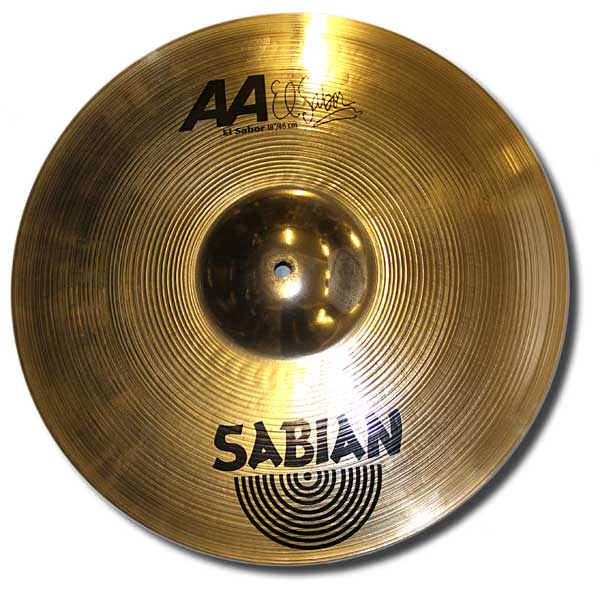 Sabian 18in AA el sabor crash