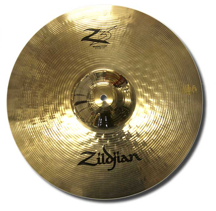 Zildjian 17in Z3 medium crash