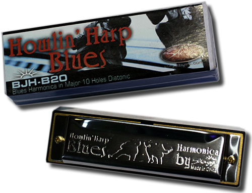 Howlin' Harp Blues harmonica key of E