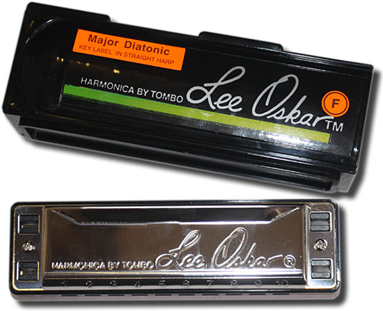 Lee Oskar Blues harmonica