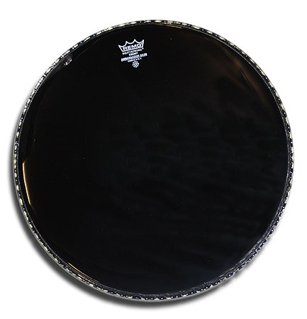 Remo Ebony Ambassador 22in  bass drum head