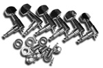 Guitar Man 6 in Line  Die-Cast Tuners - Chrome