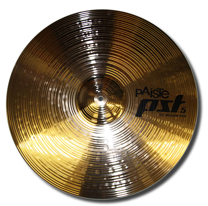 Paiste 20in PST5 Medium Ride cymbal (used)