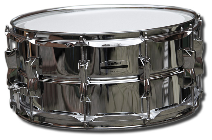 Rock factory snare drums yamaha 14in x sd265a for Yamaha stage custom steel snare drum 14x6 5