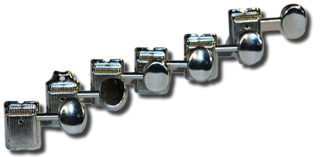 Boston  Tuners - nickel 6 a side (right handed)