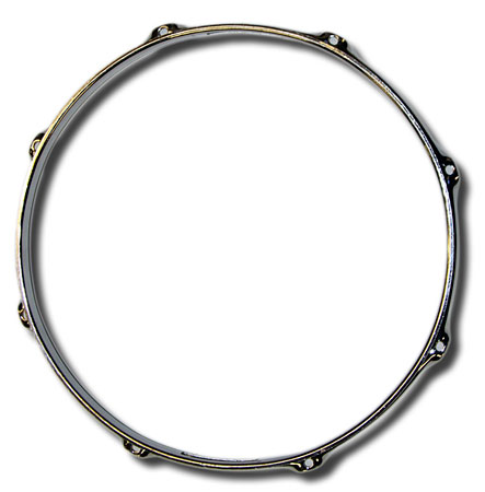 13in 8 lug Pearl Super Hoop snare side (used)