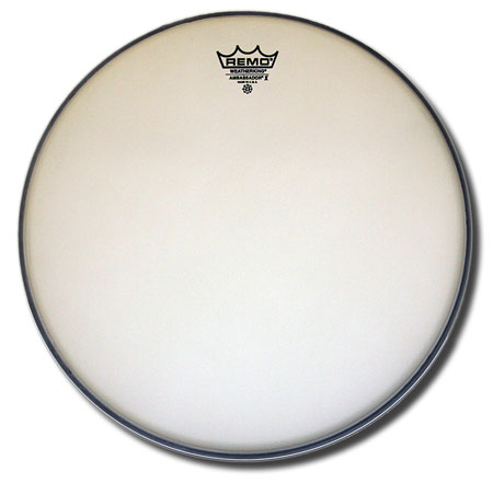 Remo Ambassador X 14in coated snare/tom head