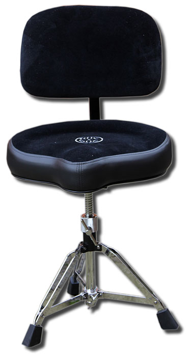 Roc n Soc drum throne with back rest