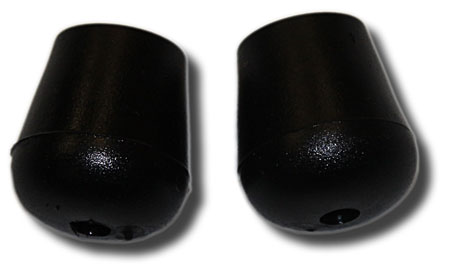 Pearl RHS-1R/2 Rubber tips for bass drum spurs