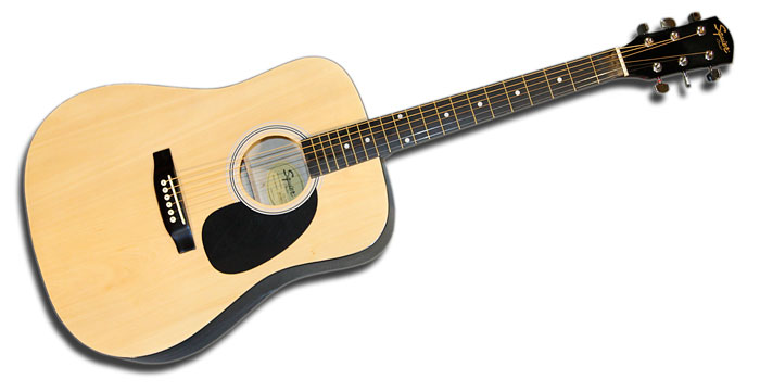 Squier SA105 Acoustic Guitar Natural
