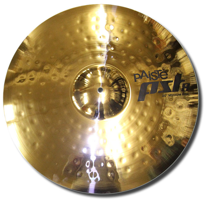 Paiste 20in PST8 reflector medium ride