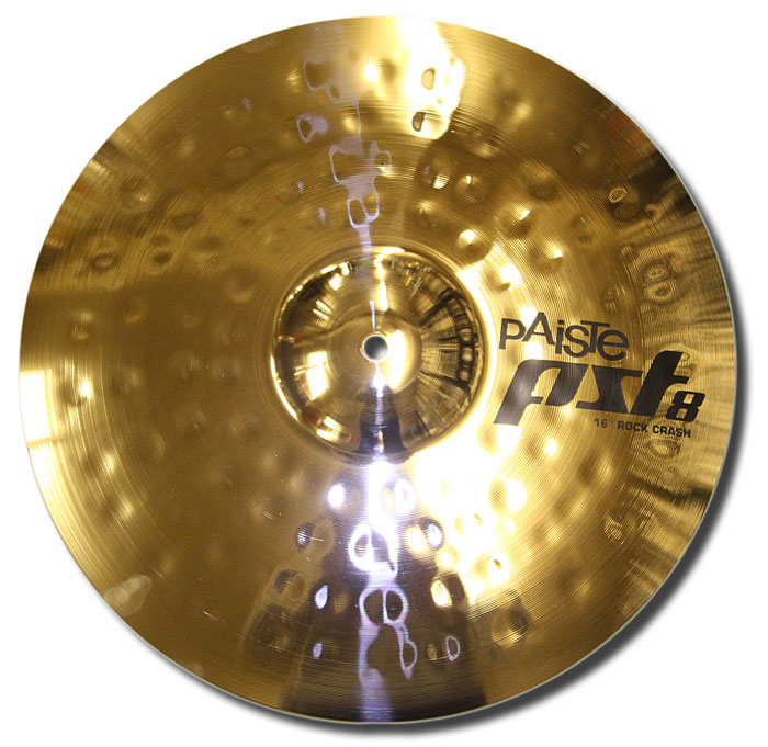 Paiste 16in PST8 reflector rock crash