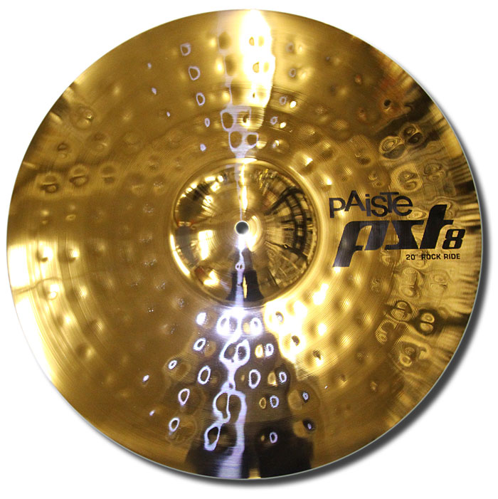Paiste 20in PST8 reflector rock ride