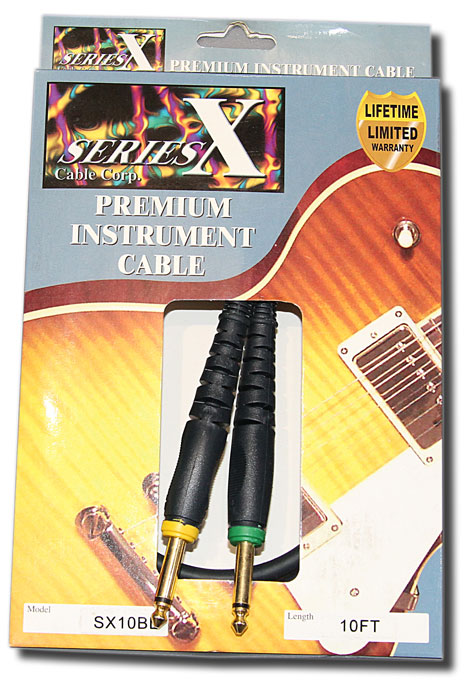 Series X 10ft Guitar Lead