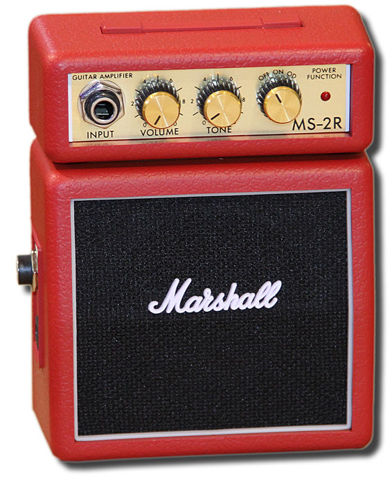 Marshall MS2R micro stack Red