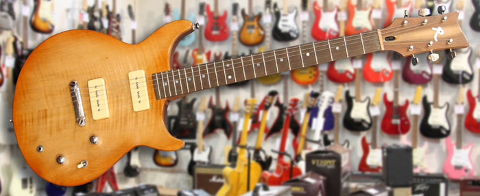 Rivertone DC2 Classic - honeyburst
