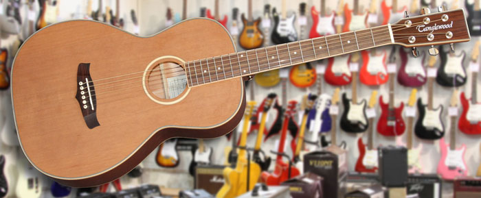Tanglewood TPCSNE Parlour Electro Acoustic
