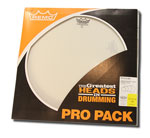 Remo Ambassador Coated Pro Pack (4pcs)