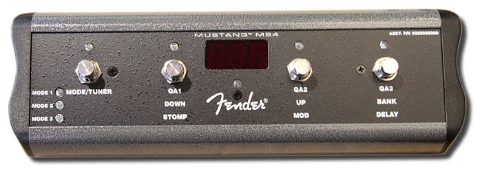 Fender MS4 Footswitch
