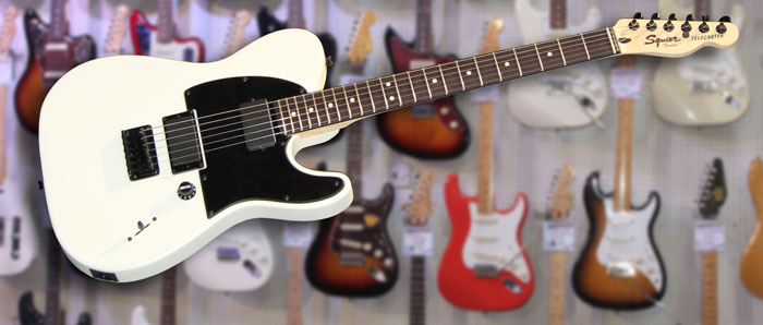 Squier Jim Root Telecaster White