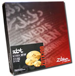Zildjian ZBT 4 cymbal set with 22in Ride