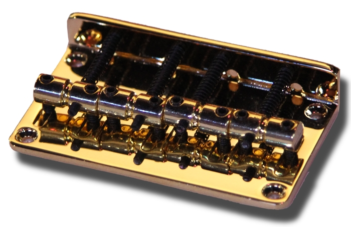 P.Bass J.Bass Style Bridge - Gold