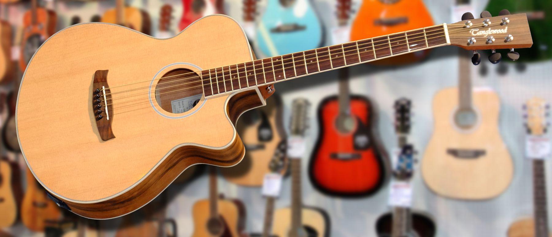 tanglewood western guitar