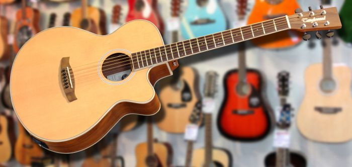 Tanglewood DBT SFCE BW Electro Acoustic