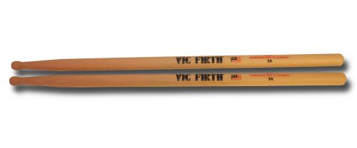 Vic Firth 3A Sticks (wood tip)