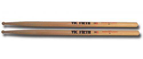 Vic Firth F1 sticks (wood tip)