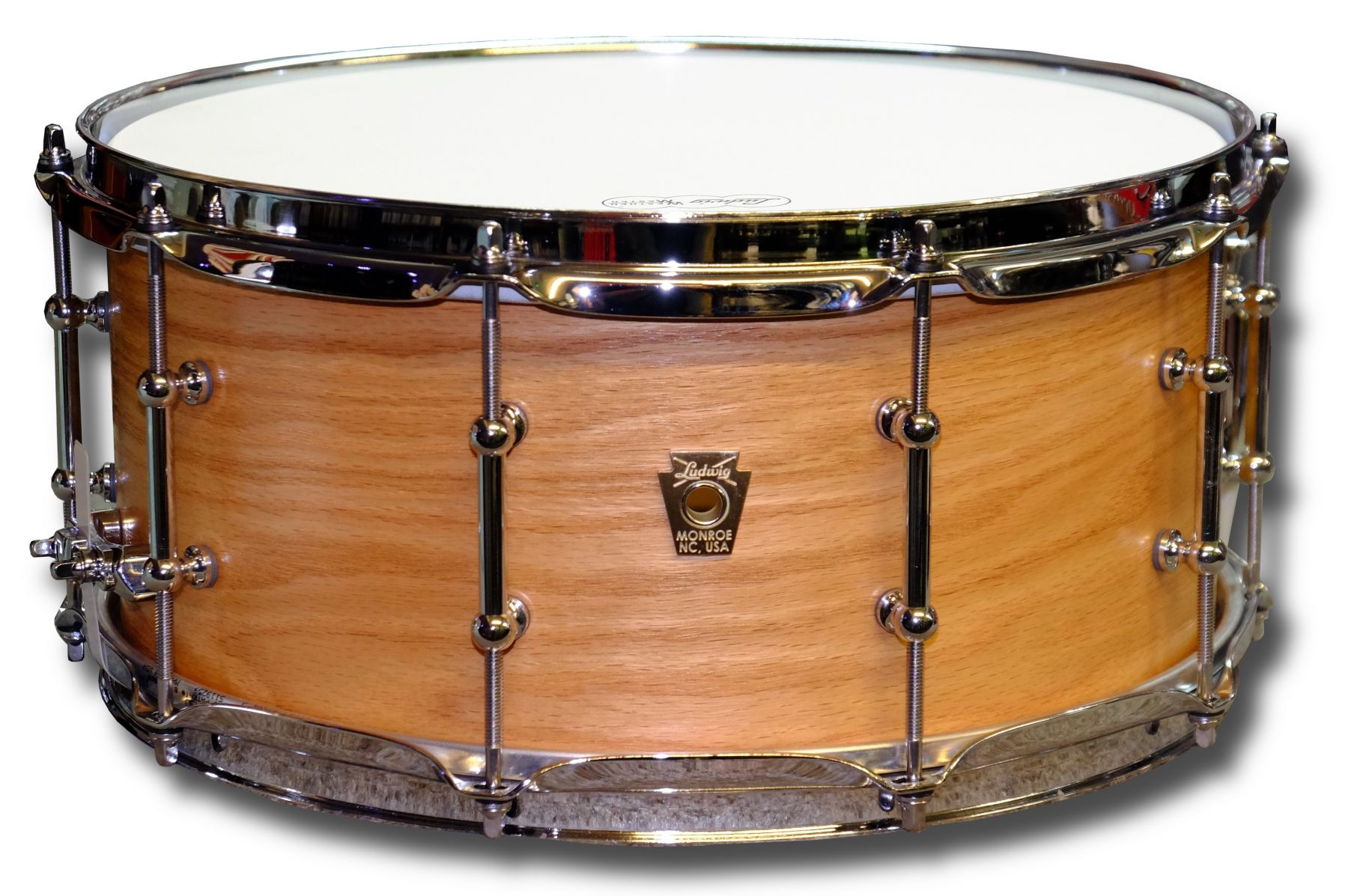 rock factory snare drums ludwig ls403 14in x classic maple snare drum. Black Bedroom Furniture Sets. Home Design Ideas