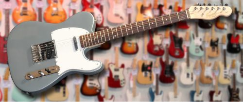 Squier Affinity Telecaster Slick Silver