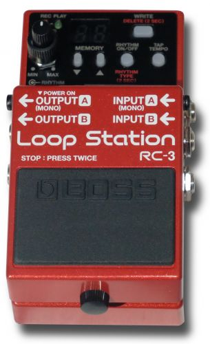 Boss Loop Station RC-3 Effects Pedal