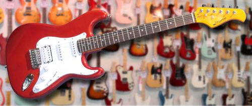 JM Forest ST73RA Candy Apple Red