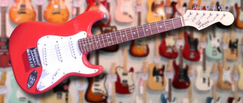 Squier Mini Stratocaster V2 Red