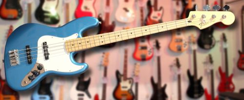 Fender Standard Jazz Bass Lake Placid Blue