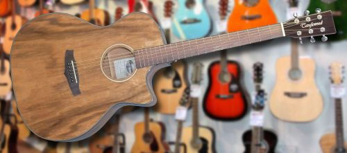Tanglewood Exotic Venetian Pacific Walnut Electro Acoustic