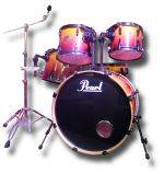Pearl Export ELX 5 Piece Shell Pack (used)