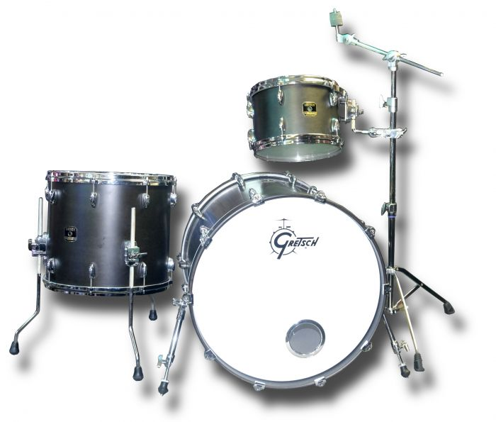 Gretsch Renown Maple 3 Piece Shell Pack in Satin Black (used)