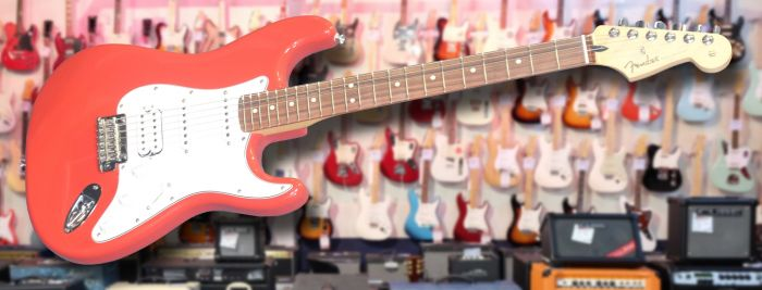 Fender Player Stratocaster HSS Sonic Red