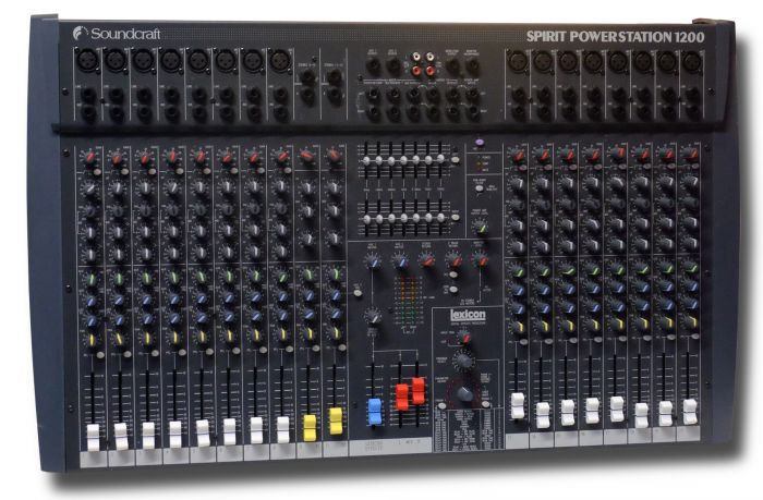 Soundcraft Spirit Powerstation 1200 (used)